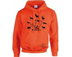 Sweat orange espèces grands gibiers XTREM WILDBOAR