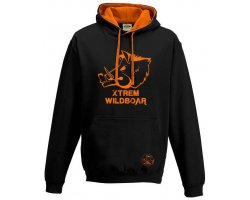 Sweat Xtrem Wildboar bi-color noir orange fluo