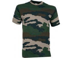 Tee-shirt enfant camouflage Percussion