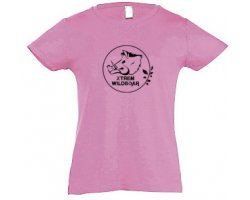 Tee-shirt enfant rose XTREM WILDBOAR