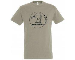 Tee-Shirt manches courtes Xtrem Migrateurs gris