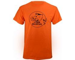 Tee-Shirt Xtrem Wildboar orange fluo