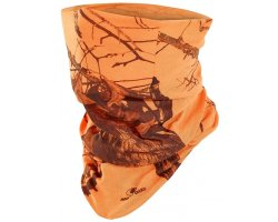 Tour de cou camouflage orange Stagunt