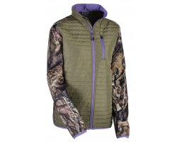 Veste molletonnée femme kaki / camo Mossy Oak Break Up Country