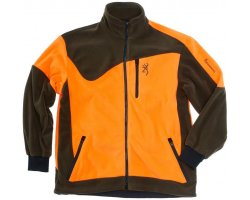 Veste polaire Browning Powerfleece One Vert Orange