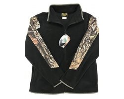 Veste Polaire noire et camo Mossy Oak Break Up Infinity
