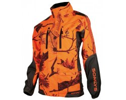 Veste de traque femme orange fluo Spirit SOMLYS