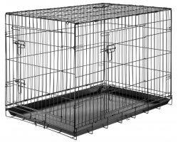 Cage pliante de transport pour chien