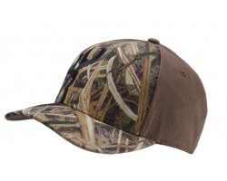Casquette Browning Unlimited Marron et realtree Max4