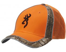 Casquette Browning Orange Polson Meshback Orange