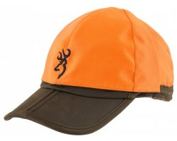 casquette browning reversible biface marron orange