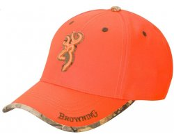 casquette browning sure shot orange