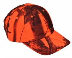 Casquette camouflage orange GhostCamo PERCUSSION