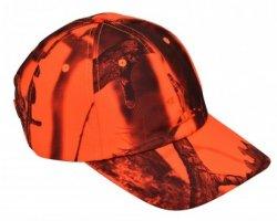 Casquette camouflage orange GhostCamo PERCUSSION