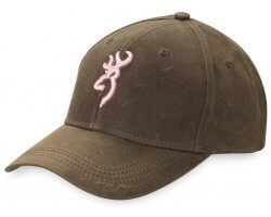 Casquette femme Browning Dura Wax Pink