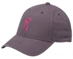 Casquette femme grise Amber BROWNING