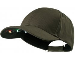 Casquette Led Kaki Deerhunter