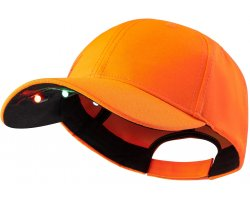 Casquette Led Orange Deerhunter