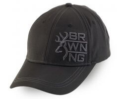 Casquette noire Stack Lite BROWNING