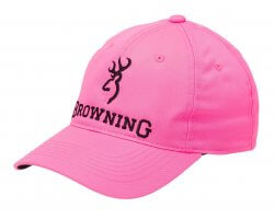 Casquette rose BROWNING