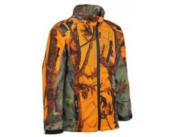 Blouson softshell enfant orange GhostCamo PERCUSSION