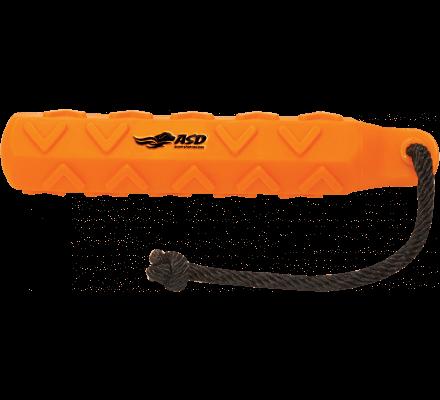 Apportable orange Hexabumper 25 cm pour chien