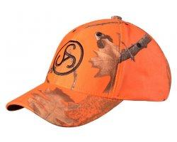 Casquette Camouflage et Orange Sauer