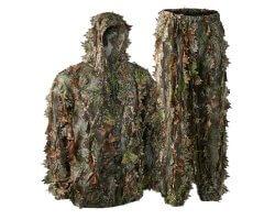 Ensemble veste et pantalon camouflage feuilles 3D Deerhunter
