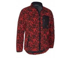 Veste en fibre rouge Camou DEERHUNTER