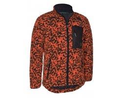 Veste en fibre orange Camou DEERHUNTER