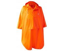 Poncho de chasse imperméable orange Hurricane Deerhunter