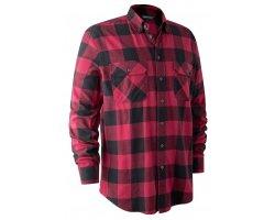 Chemise à carreaux Marvin rouge DEERHUNTER