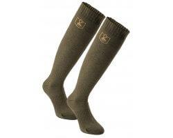 Pack de 2 paires de chaussettes longues en laine Deerhunter