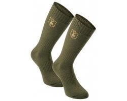 Pack de 2 paires de chaussettes courtes en laine Deerhunter