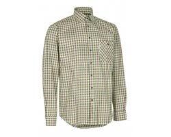 Chemise à carreaux verte Gideon DEERHUNTER