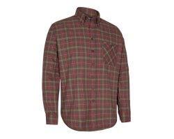 Chemise à carreaux rouge Gideon DEERHUNTER