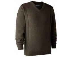 Pull en tricot col V Sheffield DEERHUNTER