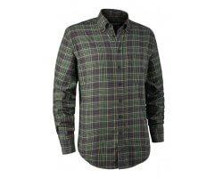 Chemise à carreaux Vert Calvin DEERHUNTER