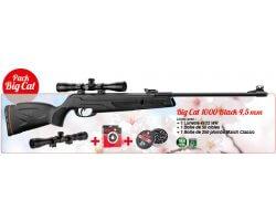 Pack Promo Carabine Big Cat 1000 Black & ses accessoires