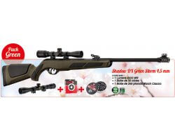 Pack Promo Carabine GAMO Shadow DX Green Storm & ses accessoires
