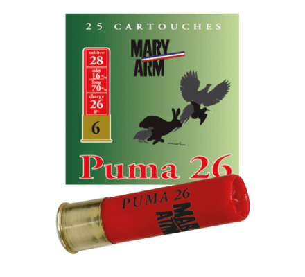 Cartouche PUMA 26 cal 28 Mary Arm