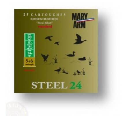 Cartouche Steel 24 cal 20 Mary Arm