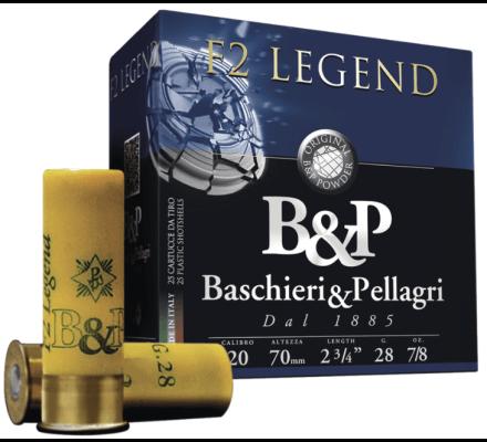Cartouches B&P F2 Legend Cal 20 - 28g