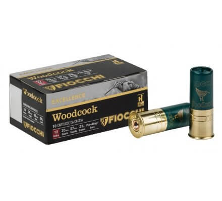 Cartouches Fiocchi Woodcock 38 BG cal 12