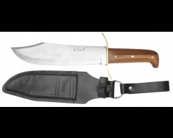 Dague Bovi avec manche en bois et étui en cuir