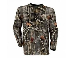 Tee-shirt manches longues camouflage Percussion