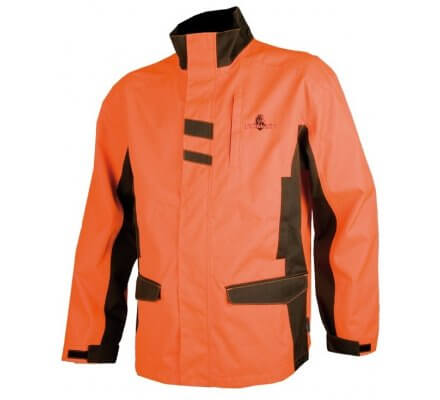 Veste de traque enfant orange SOMLYS