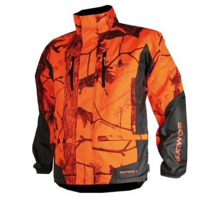 Veste de traque homme orange fluo Spirit SOMLYS
