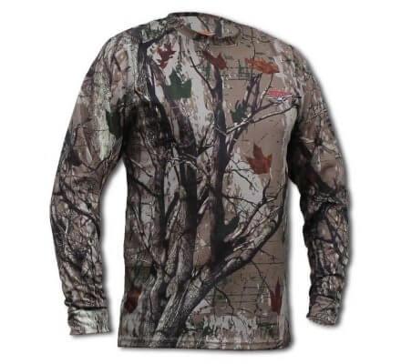 Tee shirt manches longues Tracker Blast 3D