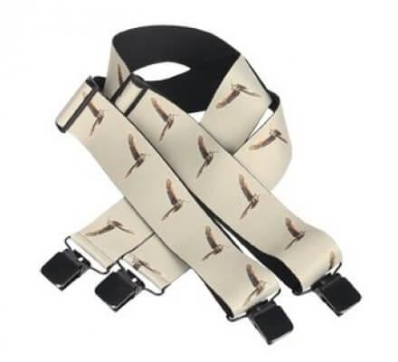 Bretelles bécasses avec clips d'attaches SOMLYS